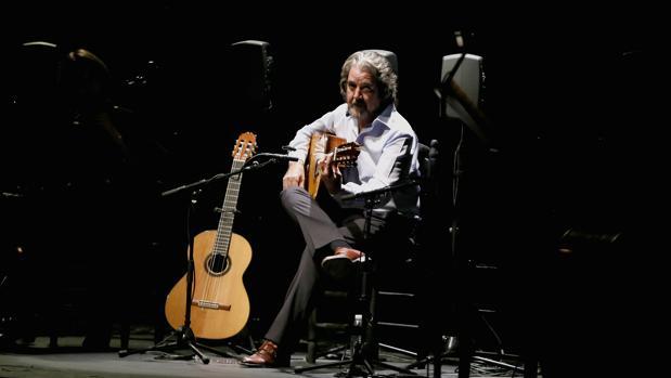 Rafael Riqueni durante un concierto