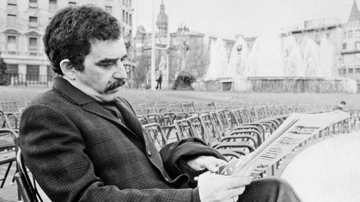 Gabriel García Márquez, en Barcelona en 1970