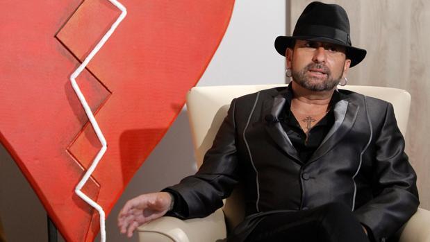 El cantautor gaditano José Luis Figuereo, en la entrevista.