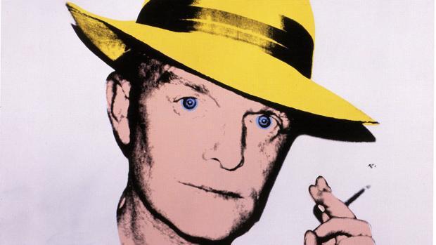 Truman Capote, visto por Andy Warhol