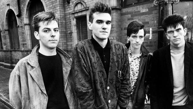 The Smiths, en una imagen de 1986