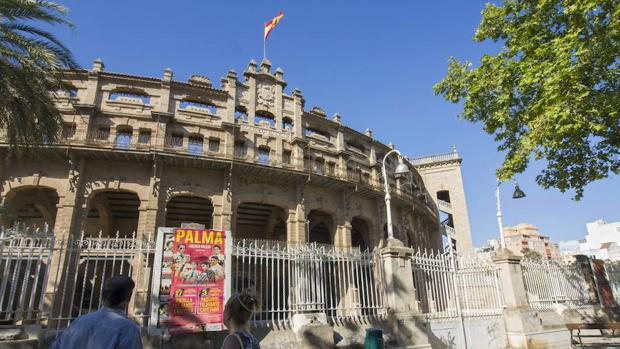 Plaza de toros de Palma de Mallorca, conocida popularmente como Coliseo balear.
