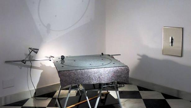 «Contramundum» es una de las mejores obras de esta muestra de F. Sinaga