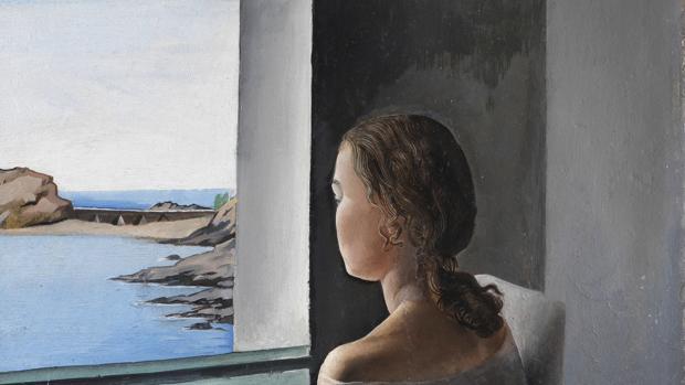«Figura de perfil (La hermana Anna Maria)», Salvador Dalí (1925)