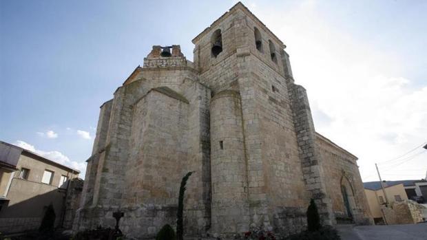 La Iglesia de Santa María, en Curiel de Duero