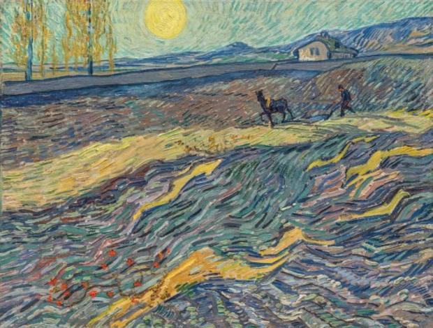 «Labourer dans un champ», de Vincent van Gogh