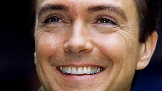 David Cassidy en una foto de 1995
