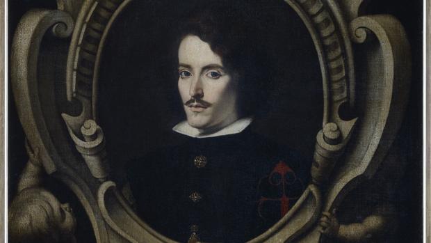Detalle del «Retrato de Diego Ortiz de Zúñiga»