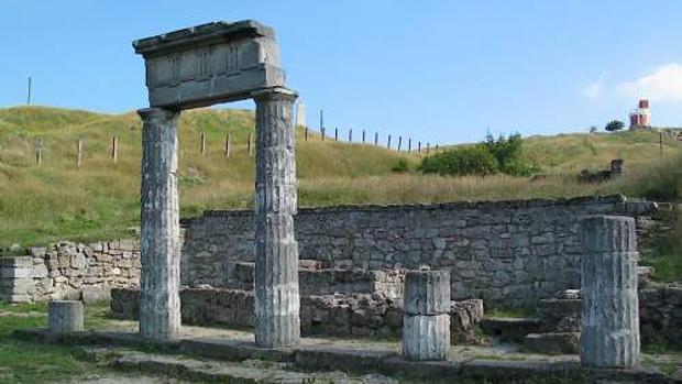 Ruinas en Kerch
