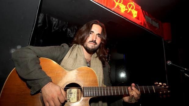 El cantautor Andrés Suárez, en el Pay Pay.