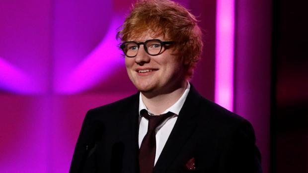 Ed Sheeran durante