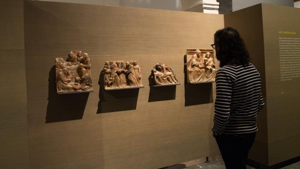 Piezas custodiadas en el Museo de Lérida, que el juez ordena devolver al Monasterio de Sijena