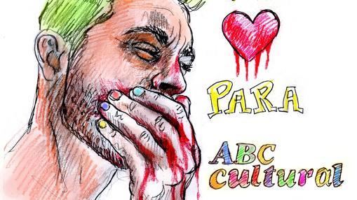 Homenaje del artista para ABC Cultural
