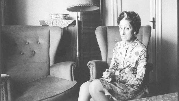 Arquimbau, retratada por Toni Vidal en 1973