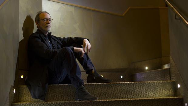 Arto Lindsay, en el Café Berlín de Madrid,