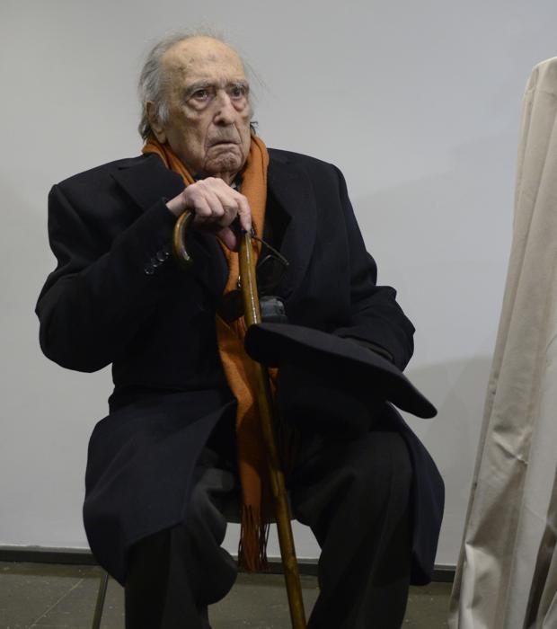 Rafael Sánchez Ferlosio el día de su 90 cumpleaños