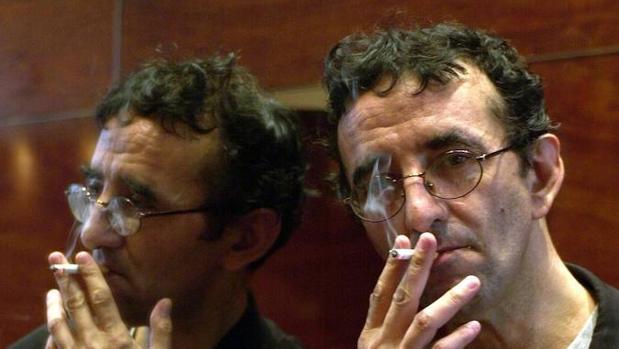 El escritor Roberto Bolaño (Santiago de Chile, 1953-Barcelona, 2003)