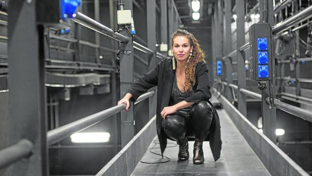 La directora Carlota Ferrer, fotografiada en los Teatros del Canal de Madrid