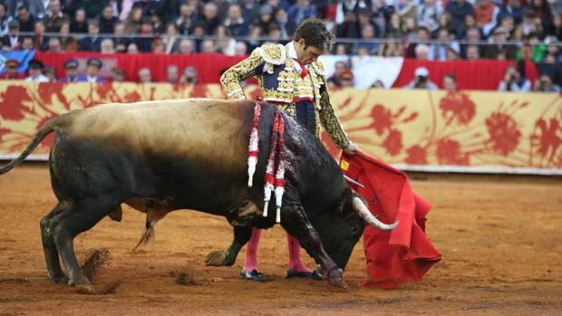 José Tomás, con el toro de su reaparición