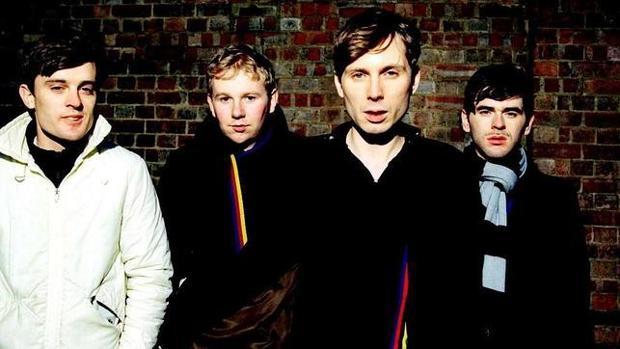 Los integrantes de la banda escocesa Franz Ferdinand, en una imagen promocional