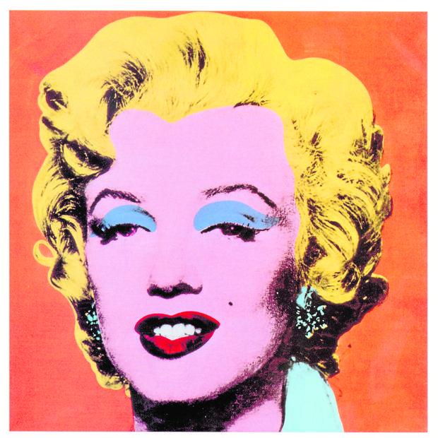 «Marilyn Naranja». de Andy Warhol