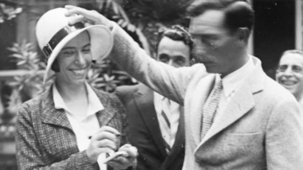 Irene Polo, retratada por Gabriel Casas mientras bromeaba con Buster Keaton
