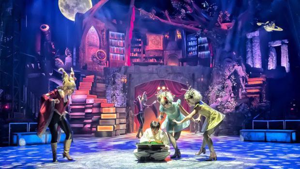 Una escena del «Circo mágico»