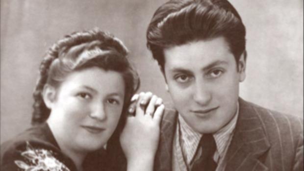Paula y Klaus Stern, dos judíos que se casaron antes de ser deportados a Auschwitz. Se reencontraron tras 28 meses sin verse