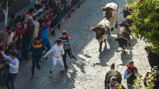 Una imagen del encierro del año pasado en La Puebla del Río