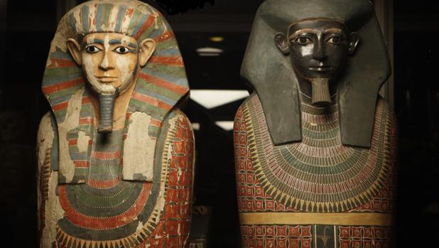 Las momias conocidas como «Dos Hermanos»