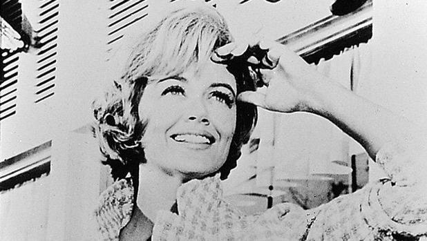 La actriz Dorothy Malone, en una imagen de juventud