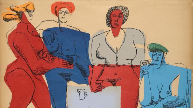 «Cuatro mujeres» (1950), de Le Corbusier