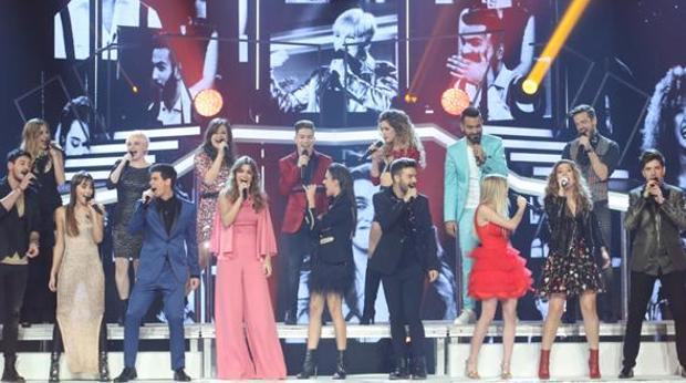Los 16 concursantes de Operación Triunfo preparan una gira de conciertos que recalará en Sevilla