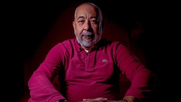 El escritor cubano Leonardo Padura, fotografiado en Madrid poco antes de la entrevista