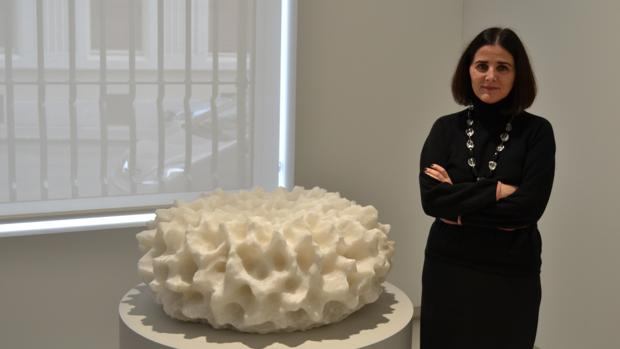 Isabel Mignoni en su despacho en Elvira González
