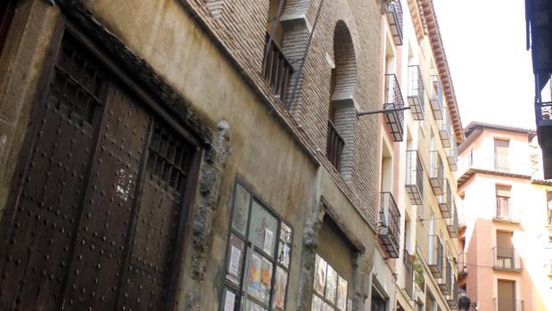 Fachada de la mezquita de Tornerías de Toledo