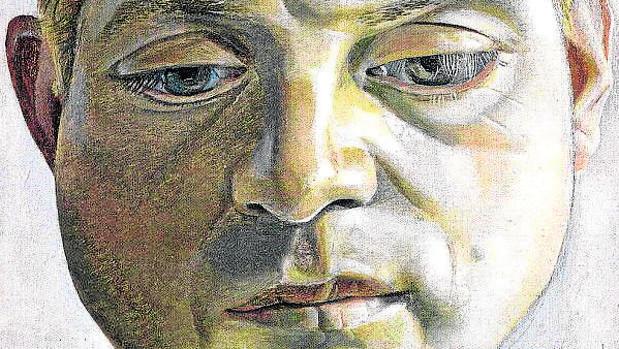 Francis Bacon, retratado por Lucian Freud en 1952