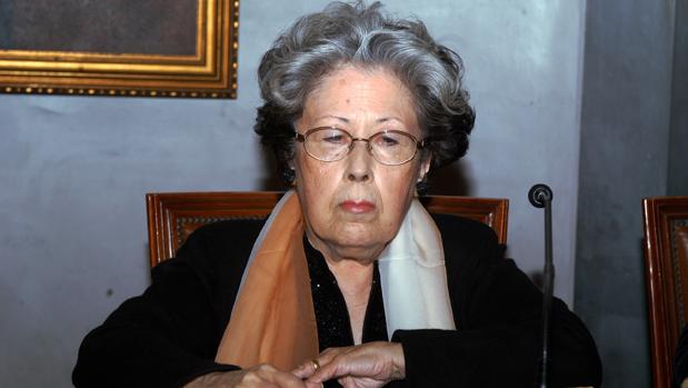 La poeta Julia Uceda