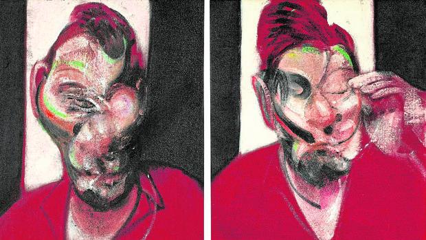 «Tres estudios para el retrato de Lucian Freud» (1964), de Francis Bacon