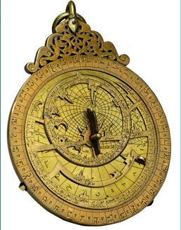 Astrolabio de metal, en la lista roja de los bienes de Yemen