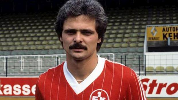 El futbolista alemán Lutz Eigendorf