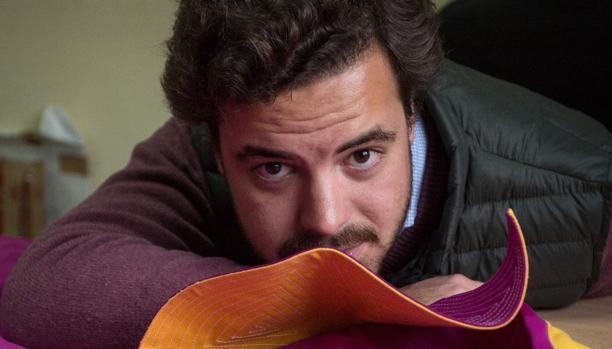 El presidente de la Tertulia Taurina Universitaria, Juan María Abans