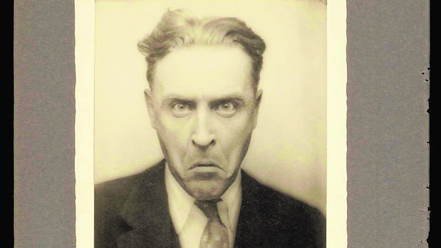 Francis Scott Fitzgerald, en una imagen inédita del archivo de Princeton