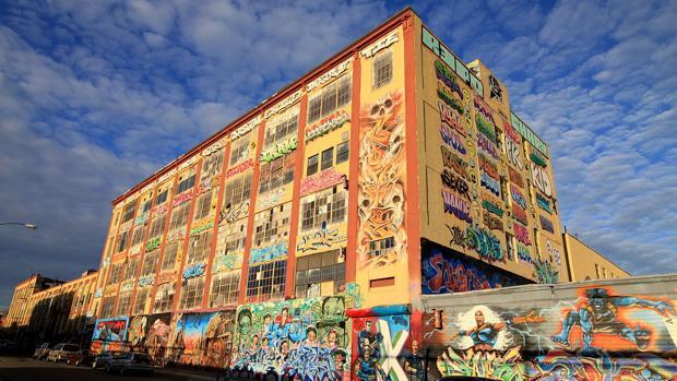 El edificio 5Pointz