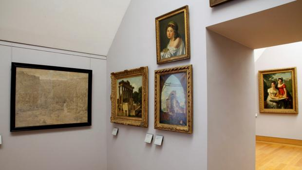 Varias de la obras que el Louvre acoge en una iniciativa para corregir el expolio nazi