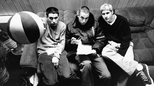 Los Beastie Boys, en una imagen promocional
