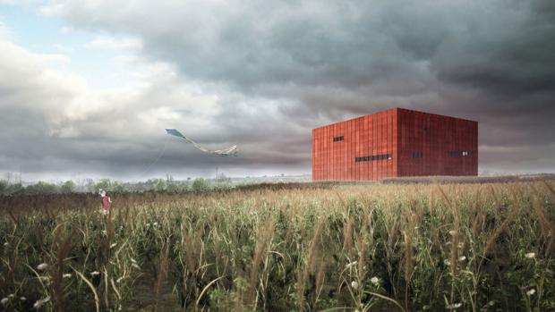 Recreación virtual del proyecto del museo