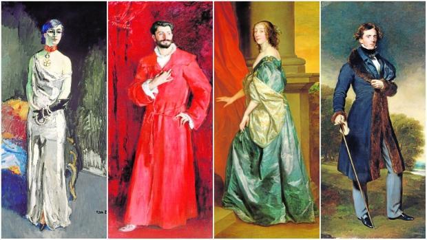 Los retratados, de izquierda a derecha: Anna de Noailles, Samuel-Jean Pozzi, Lucy Percy y David Lyon