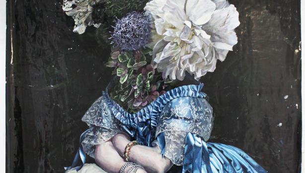 Un fragmento de 'EHS', la obra ganadora de Pablo Castañeda