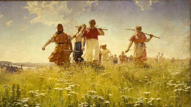 «En los campos de paz» (1950), de Andrey Mylnikov